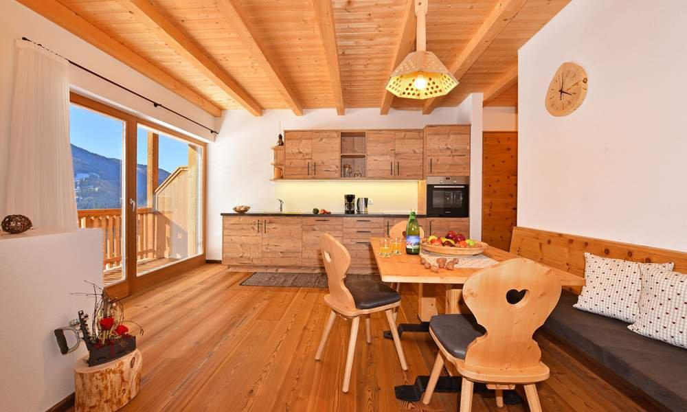 Ihre Wohnküche in Ihrer Ferienwohnung in Lüsen