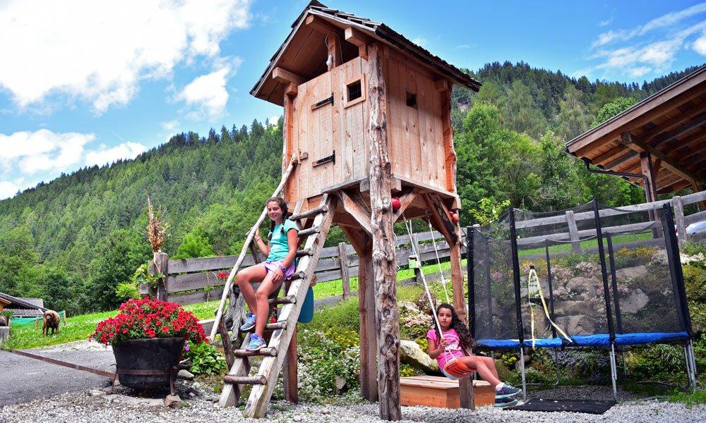 Unbeschwerter Urlaub auf dem Bauernhof in Lüsen – Südtirol