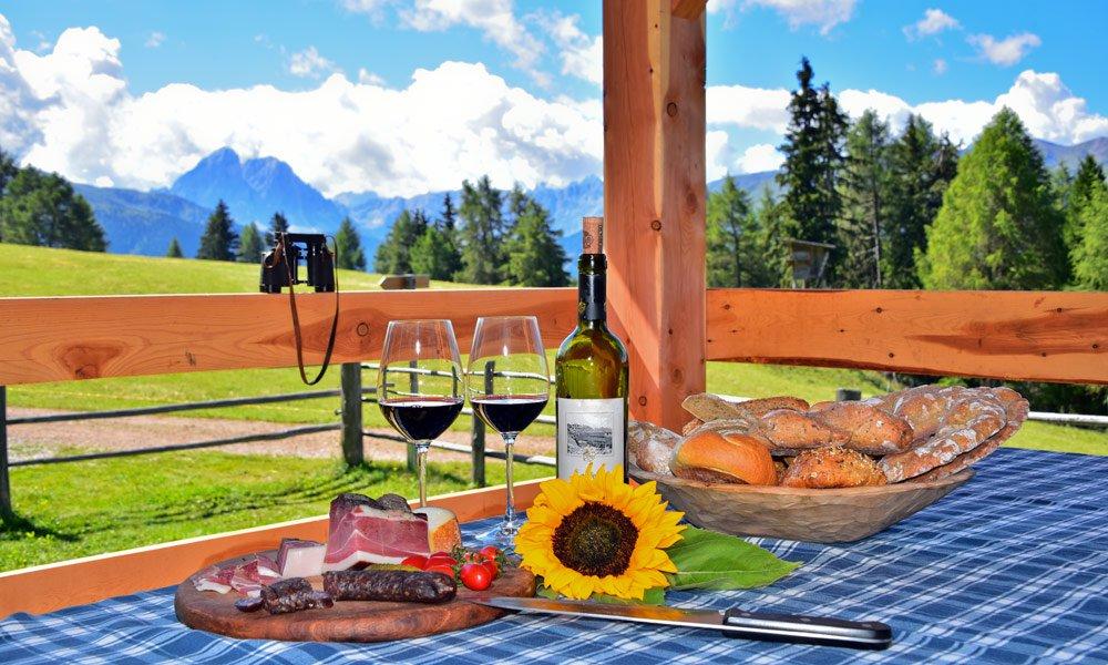 Vacanza escursionistica in Valle Isarco e sull'Alpe di Luson in autunno