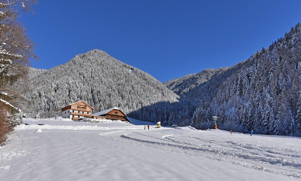 Cosa vivrete oltre a questo durante una vacanza invernale al maso in Alto Adige?