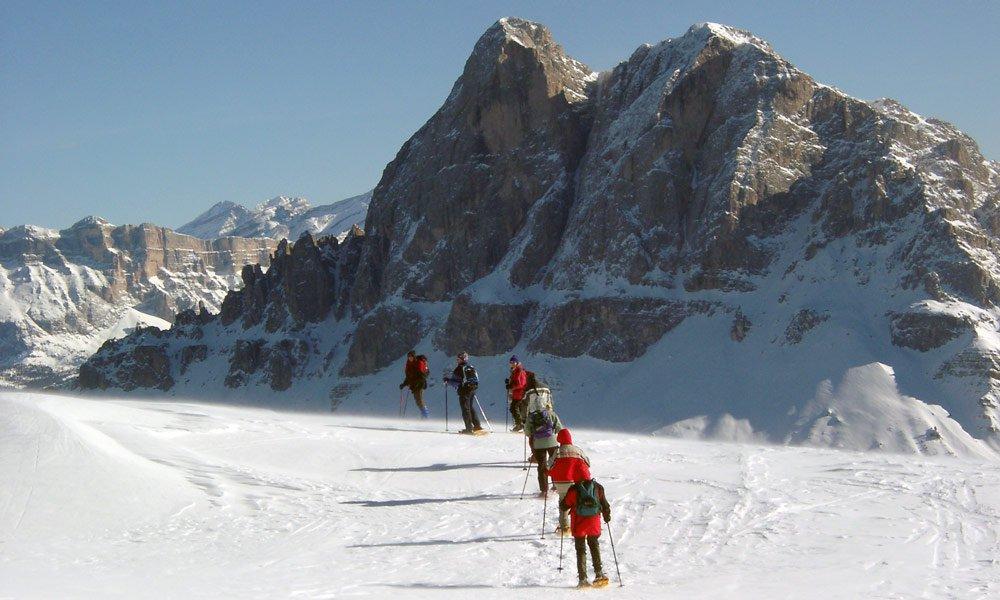 Schneeschuhwandern auf der Plose