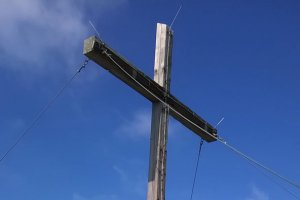 Gipfelkreuz Peitler Kofel